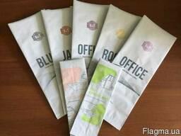 Печать на пакетах для кофе