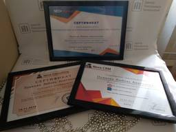 Печать Сертификатов, дипломов, грамот