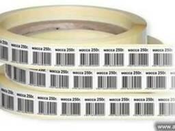 Печать штрих кода