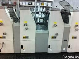Печатная 4-х красочная офсетная машина хамада 452