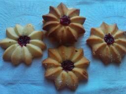 Печенье с джемом (Курабье)