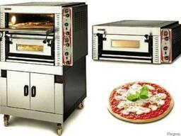 Печи для пиццы на 1,2,3 секции для пиццерии, кафе, ресторана