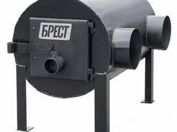 Печка-буржуйка-булерьян Брест 203 горизонтальная, улучшенная