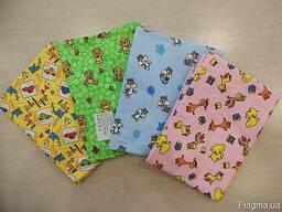 Пеленки детские фланелевые для больниц