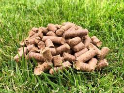 Пелети із деревини (дубові) 6мм 8мм 15кг биг-бег пеллеты Wood pellets