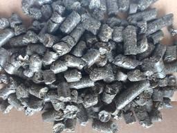 Пеллета из 100% чистой лузги подсолнуха