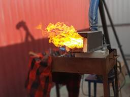 Пеллетная горелка 1-25кВт автоматика монтаж