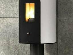 Пеллетный камин с воздушным отоплением Vision Ermetica