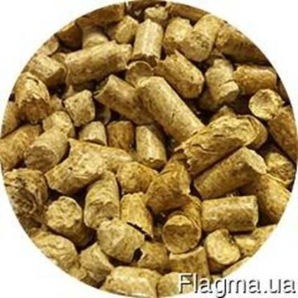 Пеллеты(гранулы) с соломы кормовые