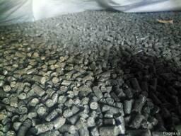 Пеллеты из 100%лузги подсолнечника, производим и доставляем.