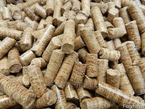 Пеллеты древесные, от производителя.