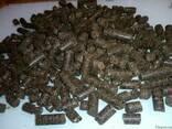 Пеллеты из лузги подсолнечника - фото 1