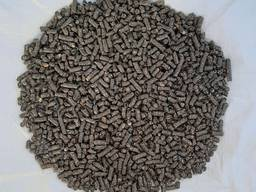 Пеллеты из отходов подсолнечника 8 мм