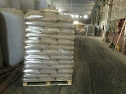 Пеллеты из сосны для сжигания / Мешки по 40 кг
