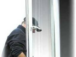 Pемонт входных дверей и пластиковых окон.