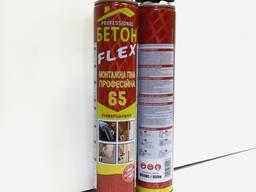 Пена монтажная ПРОфессиональная (65) 860мл/950г GNS-A11, БЕТОН FLEX