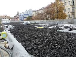 Крошка пеностекла цена Киев Пенокрошка утеплитель насыпной