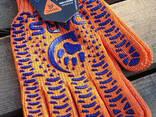 """Перчатака Dars """"Трактор"""" рабочая, ХБ из ПВХ р.10, кл.7, оранжевая - фото 3"""
