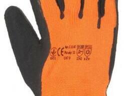 Перчатки акриловые утепленные, перчатки рабочие