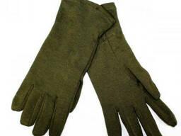 Перчатки армейские чешской армии олива