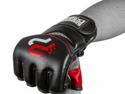 Перчатки для MMA PowerPlay 3093 Черные XL