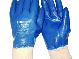 Перчатки х-б, покрытые нитрилом Profitech