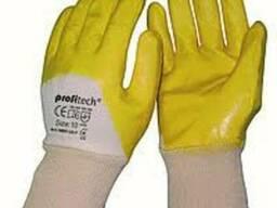 Перчатки х/б покрытые нитрилом Profitech nbr-1260