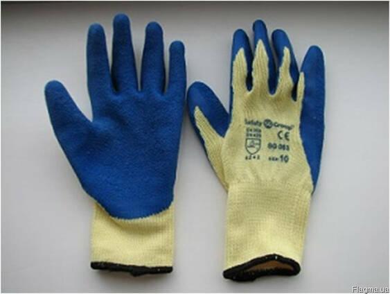 Перчатки хб покрытые латексом