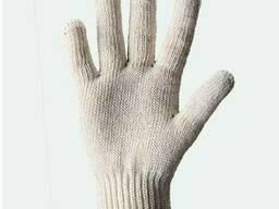 Перчатки хлопчатобумажные кругловязанные