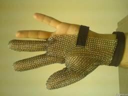 Перчатки кольчужные, новые