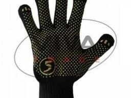 Перчатки Корона облегченная черные