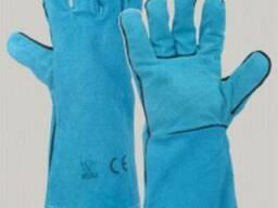 Перчатки кожаные (краги)