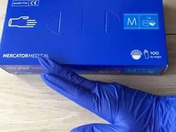 Перчатки нитриловые одноразовые Nitrylex 100шт
