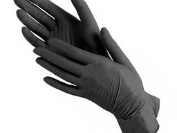 Перчатки одноразовые нитриловые S/M/L
