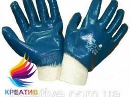 Перчатки нитриловые плотные МБС с мягким манжетом (от 20 пар