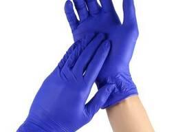 Перчатки детские Nitrylex Classic, синяя, XS, 50 шт, 25. ..