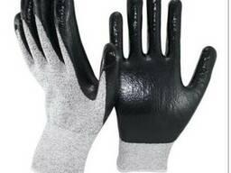 Перчатки покрытие нитрил против порезов Profitech DY 135