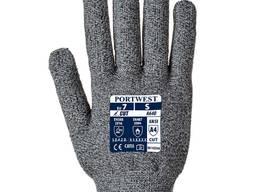 Перчатки Portwest С ПВХ точкой, с защитой от порезов -D