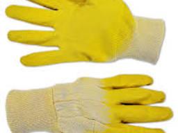 Перчатки прорезиненные рабочие