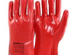 Перчатки ПВХ на подкладке