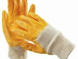 Перчатки рабочие х/б покрытые нитрилом