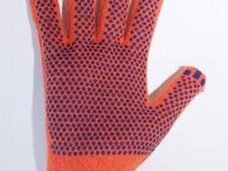 Перчатки рабочие, строительные, трикотажные, х/б рукавичкі