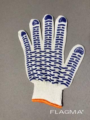 Перчатки рабочие трикотажные