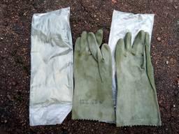 Перчатки ( рукавицы ) кислотнощелочные КЩС, Чехия