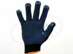 Перчатки с ПВХ 8611, Twist, 6 нитей