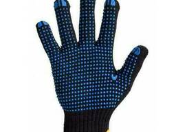 Перчатки с ПВХ 8611, Twist, 6нитей