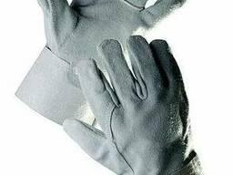 Перчатки спилковые для монтажных работ