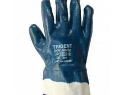 Перчатки Trident DQ6217 - полный облив нитрилом, твердый ман