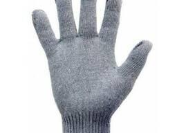 Перчатки трикотажные без ПВХ