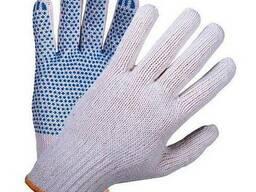 Перчатки трикотажные с покрытием ПВХ «Точка»